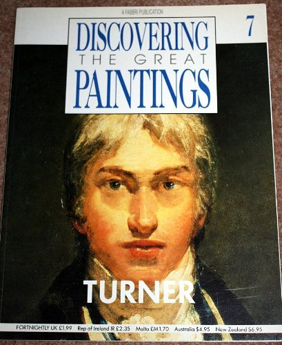 9781855872363: DISCOVERING THE GREAT PAINTINGS: TURNER.