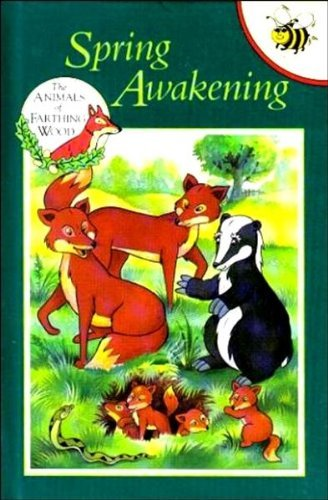 9781855913929: Spring Awakening (Animals of Farthing Wood)