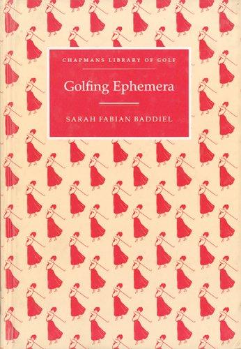 Beispielbild für Golfing Ephemera zum Verkauf von Argosy Book Store, ABAA, ILAB