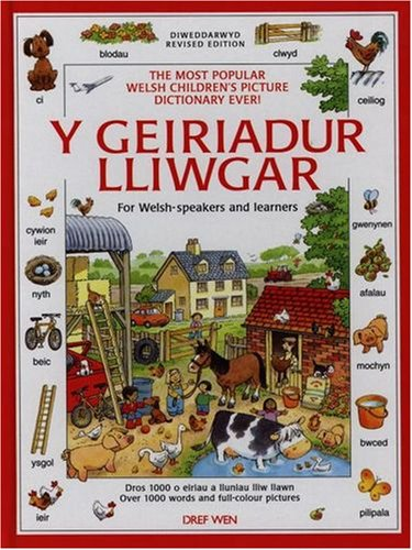 9781855962750: Geiriadur Lliwgar: For Welsh-speakers and Learners (English and Welsh Edition)