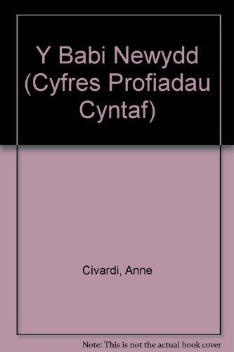 9781855964570: Y Babi Newydd (Cyfres Profiadau Cyntaf)