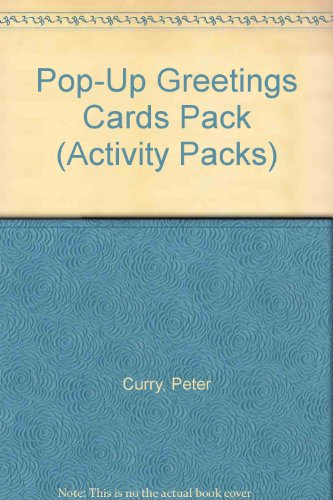 Pop-Up Greetings Cards Pack (Activity Packs) (1855973952) by Curry, Peter