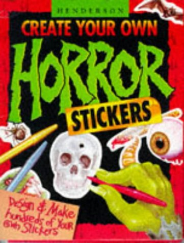 9781855978492: Create Your Own Horror Stickers (Activity Fun Packs)