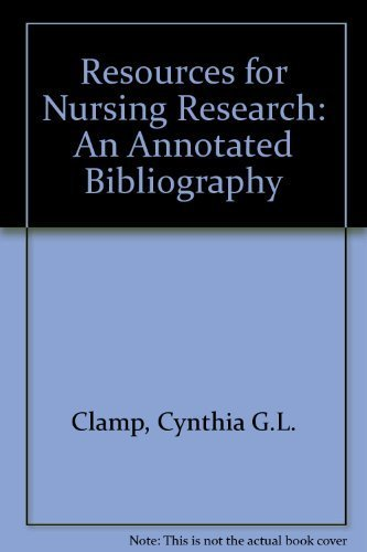 9781856041171: Resources for Nursing Research: An Annotated Bibliography