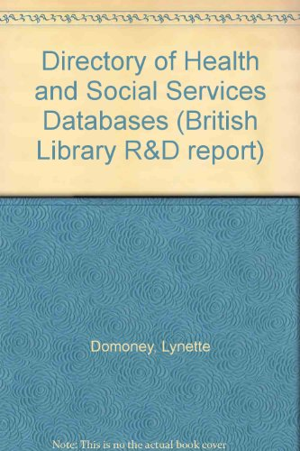 Directory of Health and Social Services Databases