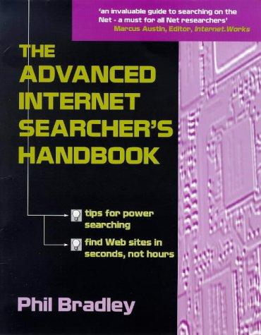 9781856043021: The Advanced Internet Searcher's Handbook
