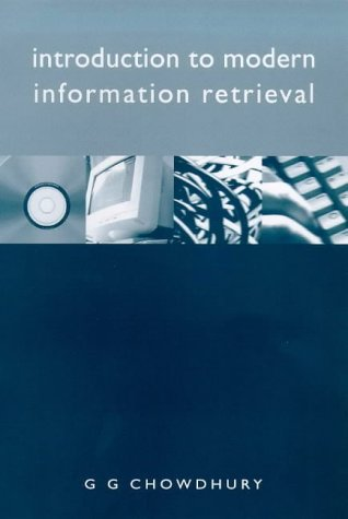 9781856043182: Introduction to Modern Information Retrieval