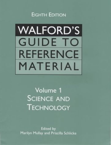 Walford's Guide to Reference Material. Volume 1: Marilyn Mullay, Priscilla