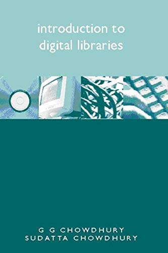 9781856044653: Introduction to Digital Libraries