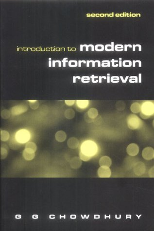 9781856044806: Introduction to Modern Information Retrieval