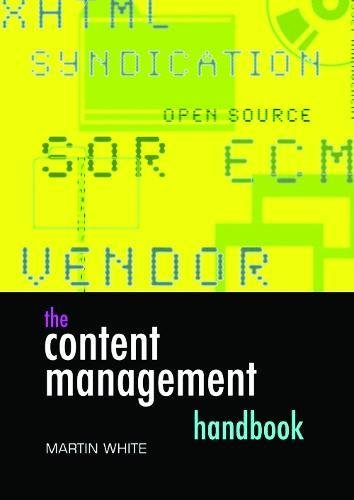 9781856045339: The Content Management Handbook (Become an Expert) (Facet Publications (All Titles as Published))