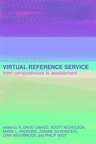 9781856046381: Virtual Reference Service