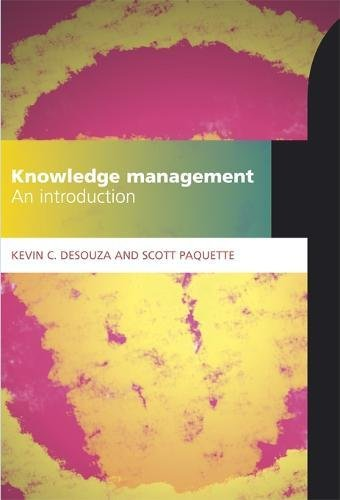 9781856047357: Knowledge Management: An Introduction