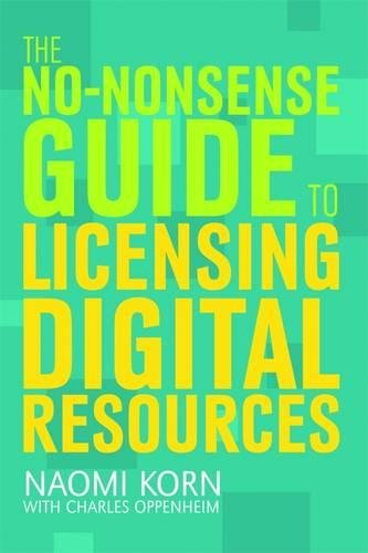 9781856048057: The No-Nonsense Guide to Licensing Digital Resources