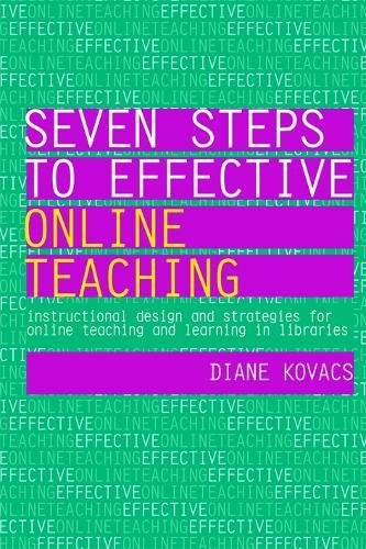9781856048330 Seven Steps To Effective Online Teaching