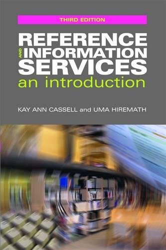 9781856048392: Reference and Information Services: An Introduction (The Facet LIS Textbook Collection)