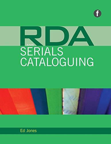 9781856049504: RDA and Serials Cataloging