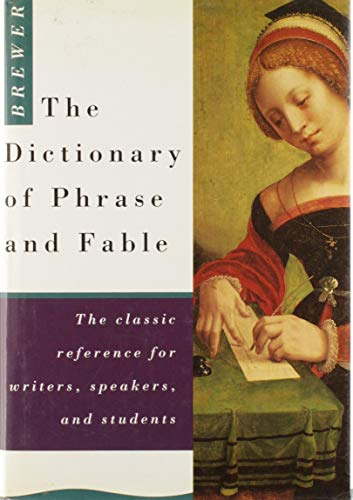 9781856050555: The Dictionary of Phrase and Fable