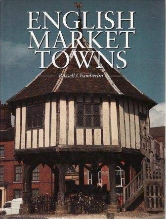 9781856051729: English Market Towns