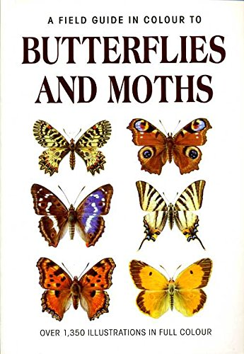 9781856054409: A Field Guide in Colour to Butterflies and Moths