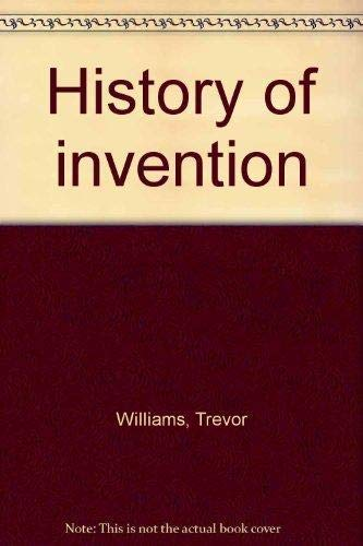 9781856055246: History of invention