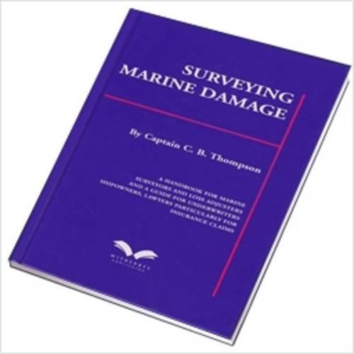 Surveying Marine Damage: Thompson, C. B.