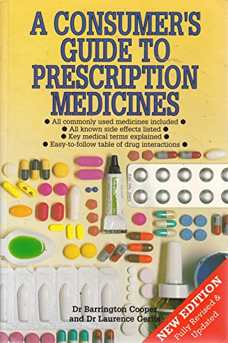 9781856131360: A Consumer's Guide to Prescription Medicines