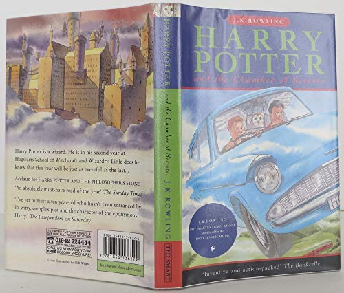 Harry Potter And The Chamber Of Secrets Book For