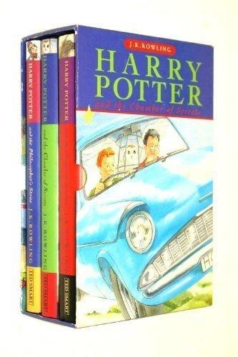 9781856136631: The Harry Potter trilogy: Chamber of Secrets; Philosophers Stone; Prisoner of Azkaban (THE HARRY POTTER TRILOGY)