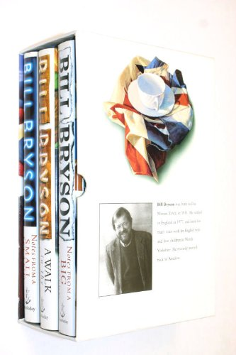 9781856137041: Bill Bryson Box Set : Three Vols. A Walk in the Woods, Notes from a Big Country, Notes from a Small Island