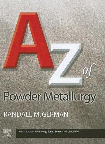 9781856174299: A - Z of Powder Metallurgy (Metal Powders Technology)