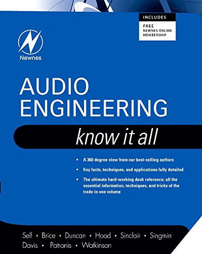 9781856175265: Audio Engineering: Know It All (The Newnes Know It All Series)