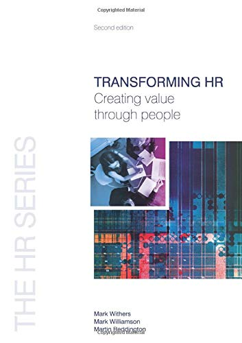 9781856175463: Transforming HR (The HR Series)