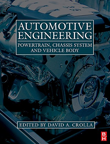 Automotive Engineering: Powertrain, Chassis System and Vehicle
