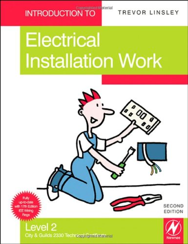 9781856176200: Introduction to Electrical Installation Work, Level 2: City & Guilds 2330 Technical Certificate