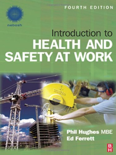 9781856176682: Introduction to Health and Safety at Work