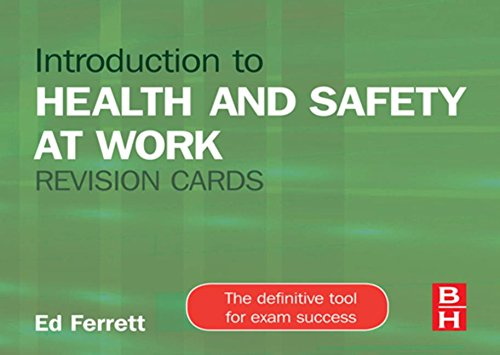 9781856177023: Introduction to Health and Safety at Work Revision Cards
