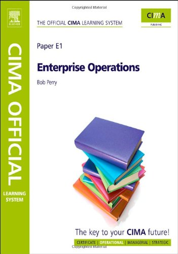9781856177900: CIMA Official Learning System Enterprise Operations