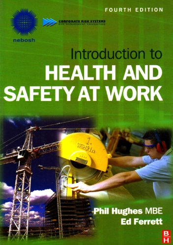 9781856178891: Introduction to Health and Safety at Work, Fourth Edition