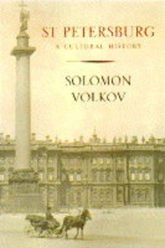 9781856193375: St.Petersburg: A Cultural History