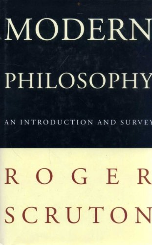 9781856193924: Modern Philosophy: An Introduction and Survey