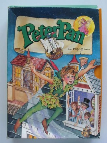 9781856271479: PETER PAN FOUR POP-UP BOOKS
