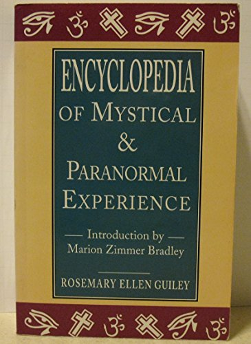 9781856273220: Encyclopedia of mystical and paranormal experience