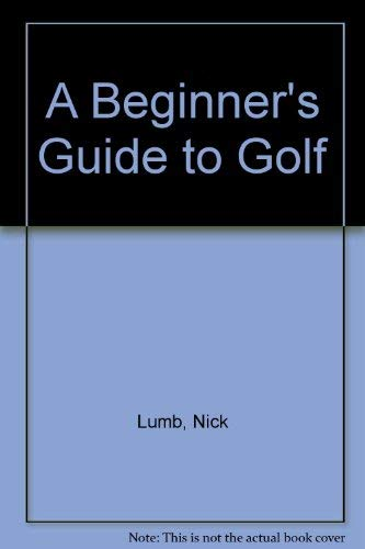 9781856278003: Beginners Guide to Golf