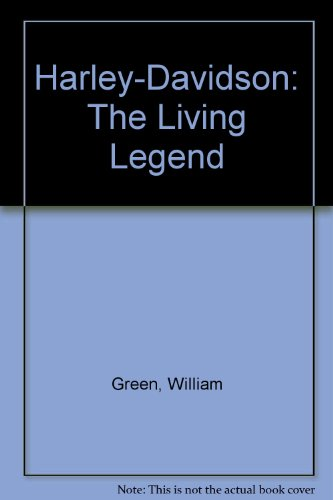 9781856278683: Harley Davidson the Living Legend