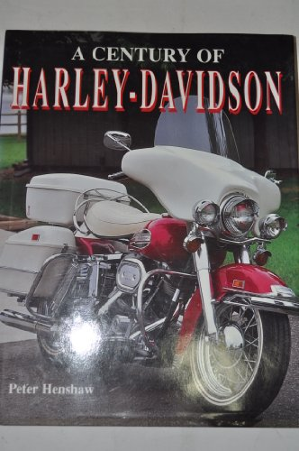 A Century of Harley-Davidson (English and Spanish Edition): Peter Henshaw