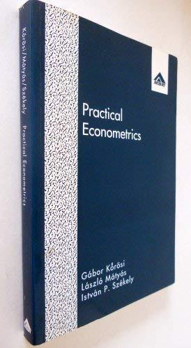 9781856281539: Practical Econometrics