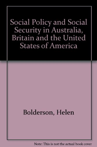 Social Policy and Social Security in Australia,: Bolderson, H Mabbett,