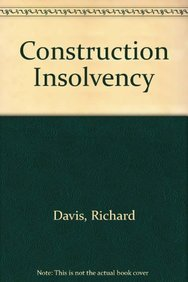 Construction Insolvency (Unkno Wn Binding)