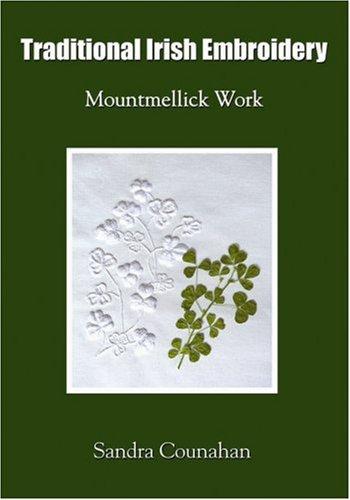 9781856354851: Traditional Irish Embroidery: Mountmellick Work